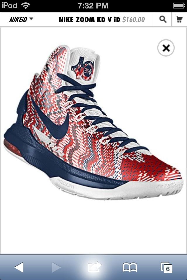 size 40 c5527 aa876 ... Nike KD V Elite. See More. My custom made KD shoes ...