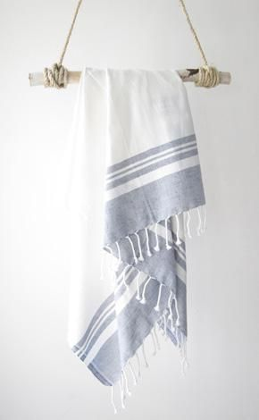 I have a mild turkish towel obsession - they are just so pretty