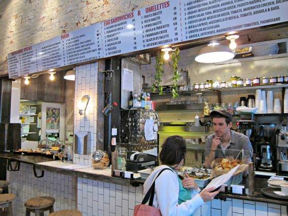 The surprisingly long menu at Piccolo Cafe on the Upper West Side will not disappoint.