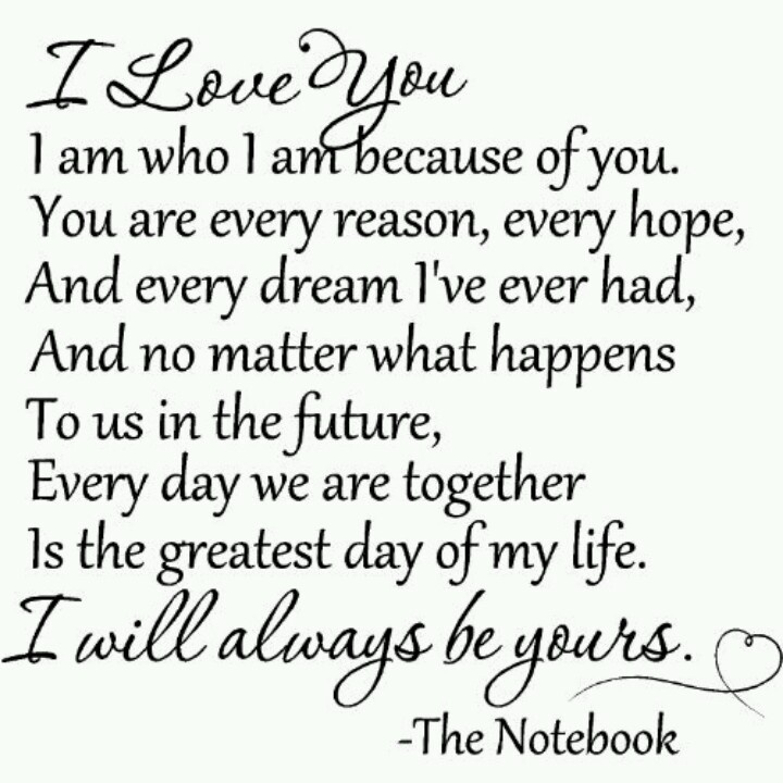 Love Quotes From The Notebook The notebook | Quotes ...