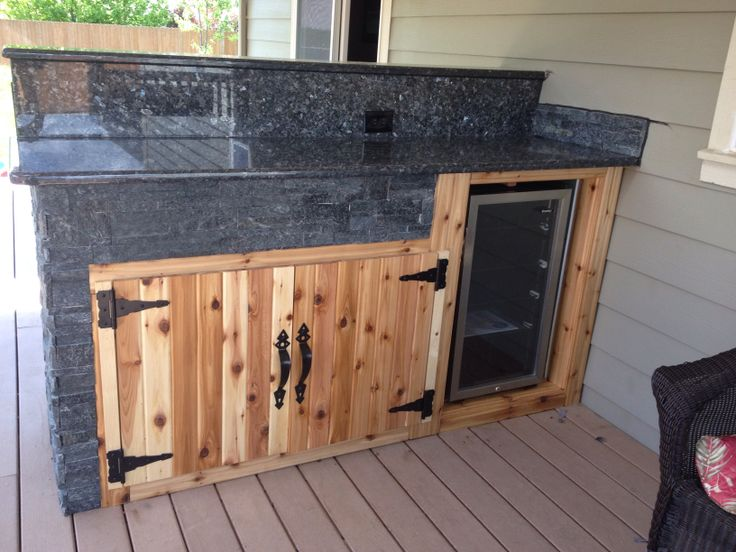 Bar On Porch : Best images about outdoor bar on pinterest great