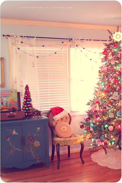 Candy colored Christmas