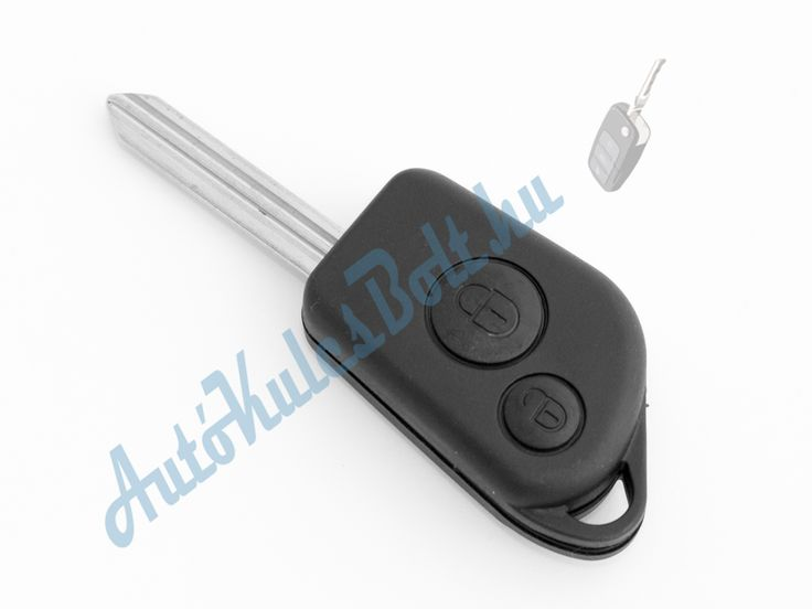 Citroen két (2) gombos kulcsház kulcsszárral. Elem, elektronika és immobiliser chip nélkül. Logót, márkajelzést nem tartalmaz.  http://autokulcsbolt.hu/citroen-kulcshazak/citroen-ketgombos-kulcshaz-kulcsszarral