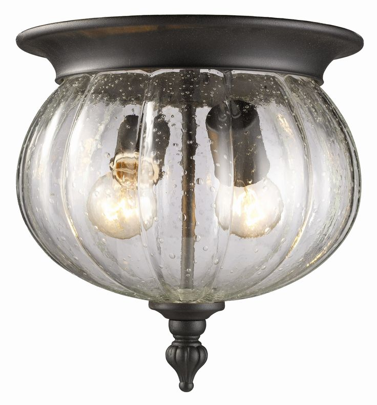 Belmont 2 Light Outdoor Flush Mount