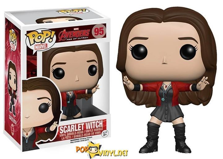Avengers 2 Scarlet Witch Funko POP Dammit I want all of these but my bank account....