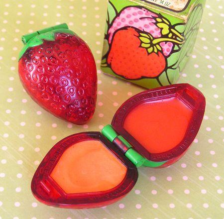 Avon strawberry lipgloss.
