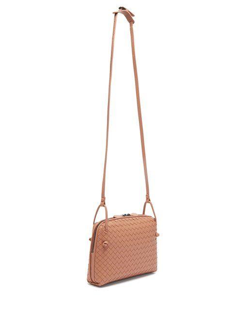 864d773f95 Bottega Veneta Nodini small Intrecciato leather cross-body bag ...