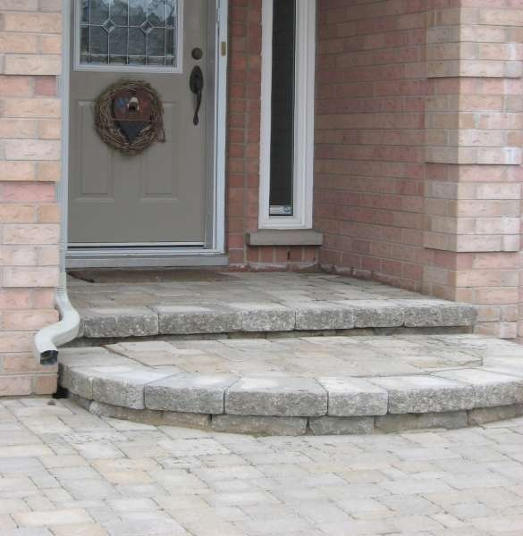 24 best interlock patios images on pinterest landscaping home rounded interlock steps solutioingenieria Choice Image
