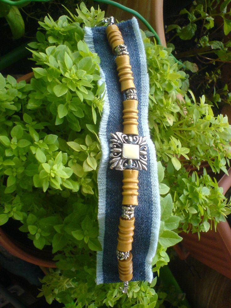 16 besten handgefertigte jeans armb nder bracelet bilder auf pinterest armband silberschmuck. Black Bedroom Furniture Sets. Home Design Ideas
