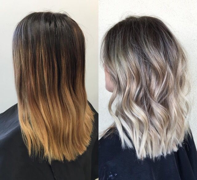 Image Result For Cold Blonde Balayage Ombre H 229 R H 229 R