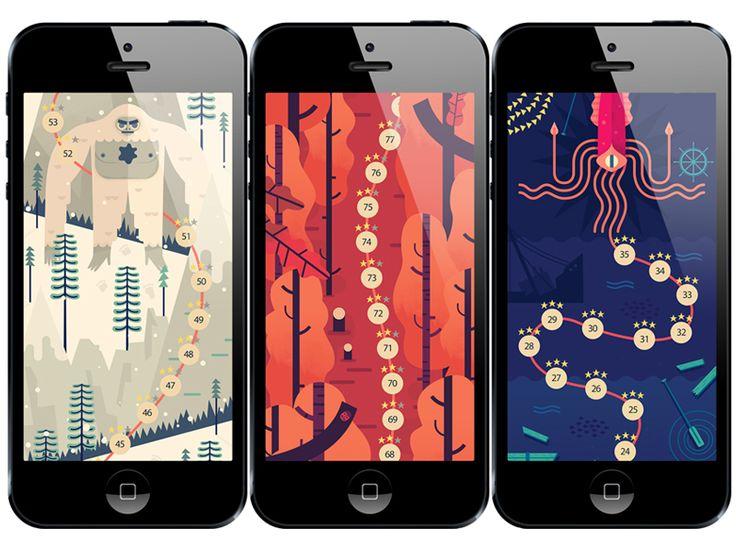 そう、このゲームアプリ、めっちゃイラストがいいんすよ〜https://itunes.apple.com/app/id880178264 TwoDots on iPhone