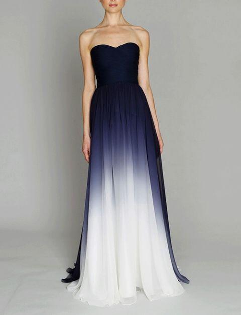 Pretty ombre dress