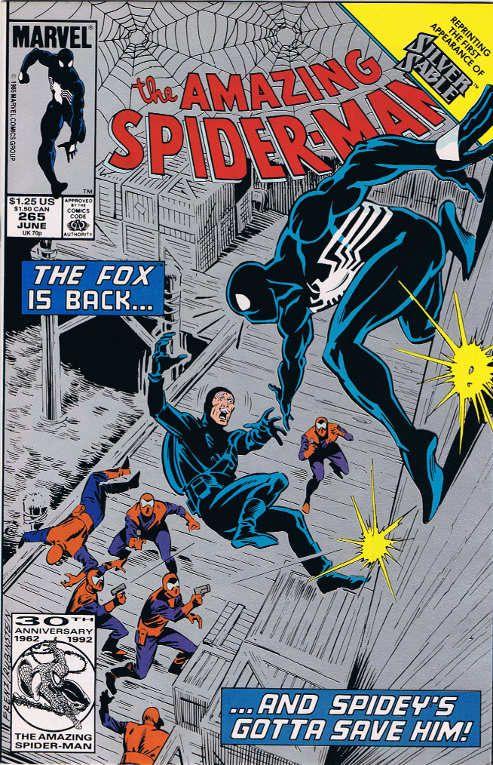 Spider man 265 silver