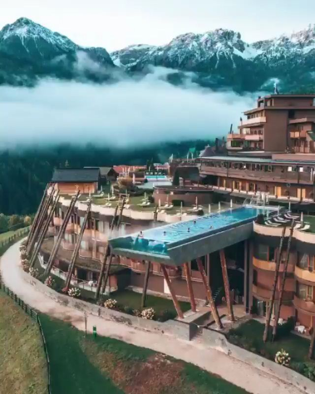 Alpin Panorama Hotel Hubertus Italy Follow Luxurytrveler Amp