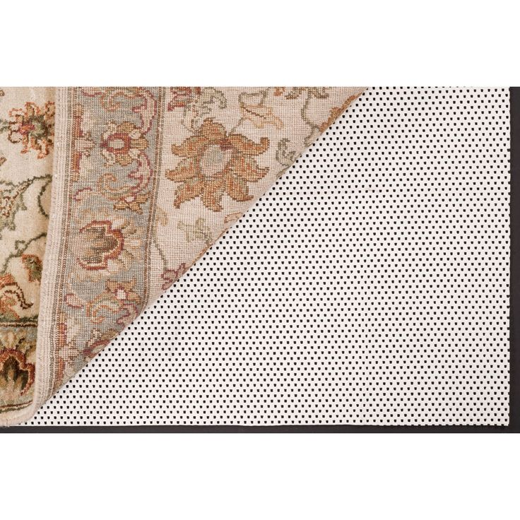 Luxury Grip Pvc Rectangular Rug Pad: 5 Ft. X 8 Ft. Surya Rug Pads & Accessories Rugs Home