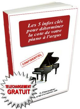 Comment estimer le prix de votre piano d'occasion ?   Téléchargez gratuitement le guide du piano
