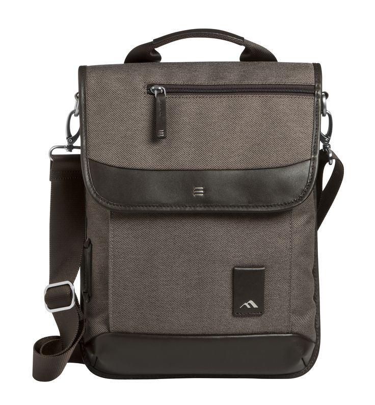 The Medina Vertical Messenger Bag is a stylish, slim-profile solution that maximizes device protection and usability.