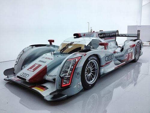 2012 Audi R18 Le Mans Racecar