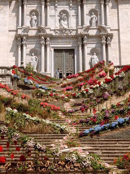 May Flowers Festival, Girona   Catalonia   Spain