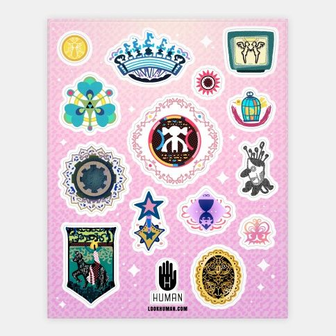 Transform into a magic girl and save the city from the witches of Puella Magi Madoka Magica with these proud sticker badges of honor worn by mahou shoujo who will defeat the Walpurgis Night. | Beautiful Designs on Stickers, Sticker Sheets and Vinyl Stickers with New Items Every Day. Satisfaction Guaranteed. Easy Returns.