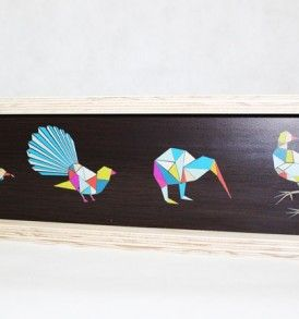 Native birds ply frame