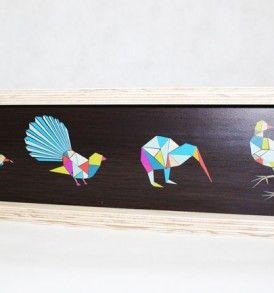 Native birds ply frame