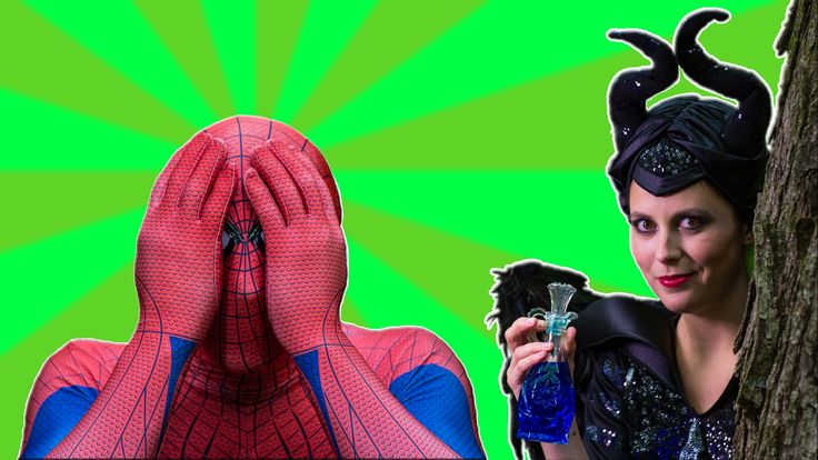 Elsa and Spiderman play hide and seek. Elsa meets Maleficent for the first time! Will they be friends or foes?
