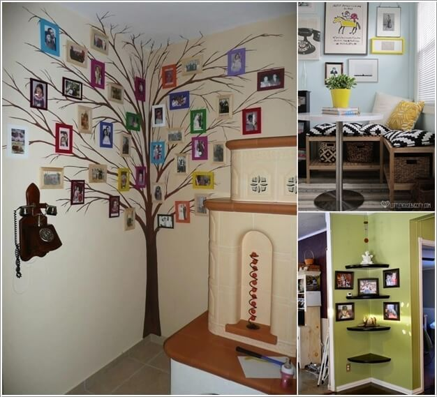 Decorate empty corners in your home creatively great for Decorate my photo