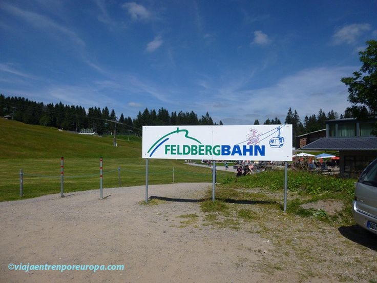 Funicular del Feldberg.