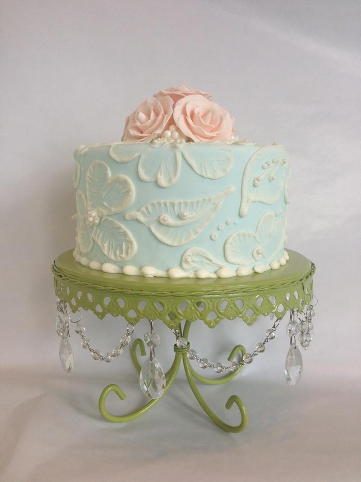 Cake Design Vintage : Vintage rose cake Mastery Cake Ideas Pinterest