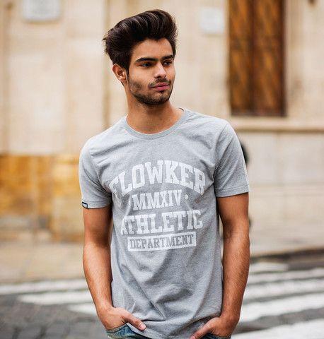 Camiseta chico Flowker Athletic Department en Gris 1