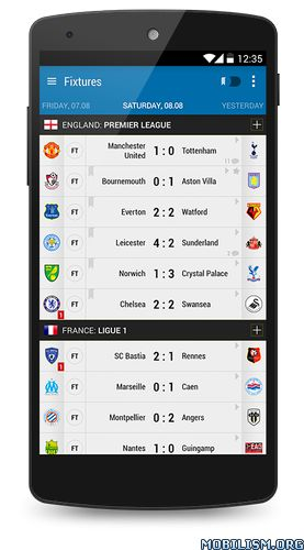 Soccer Center PRO (Live Score) v3.4.5Requirements: 2.3+Overview: Soccer Center is a simple and light weight soccer app, a data center and a live soccer monitor tool.   IMPORTANT NOTE: The names and logos of teams in this application are used solely...