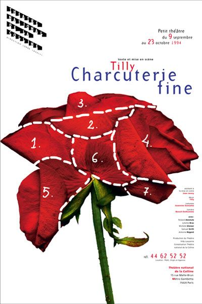 Michal BATORY French poster design