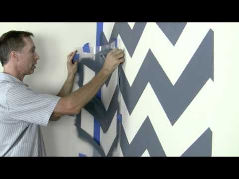 How to stencil video tutorial by Cutting Edge Stencils, Easy instructions how to stencil walls