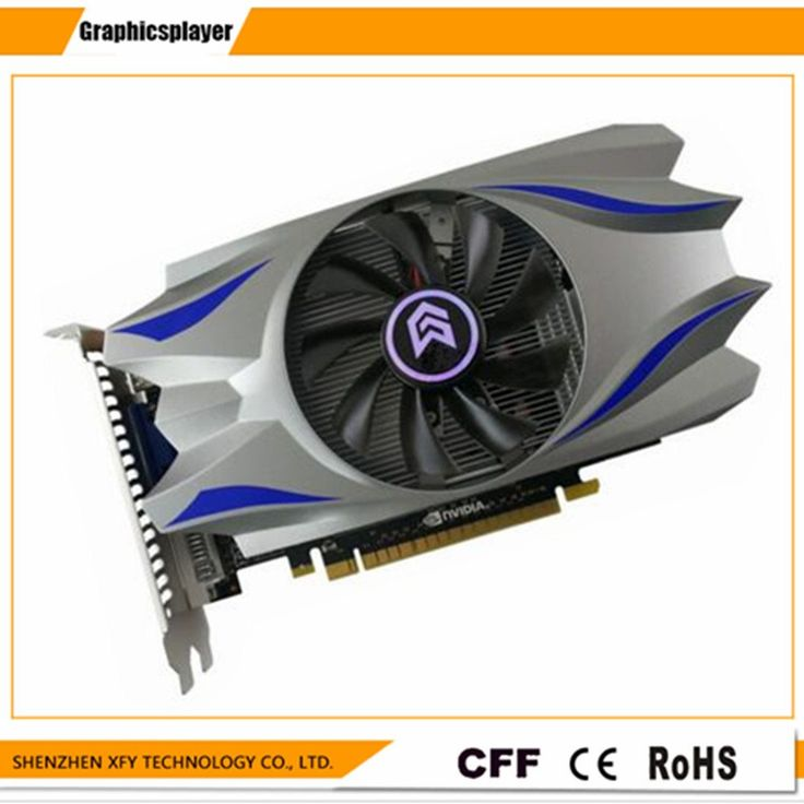 For PC PCI-E 2GB DDR5 128Bit GTS450 Graphics Card  fan Placa de Video carte graphique Video Card for Nvidia GTS450 DVI //Price: $65.89//     #storecharger