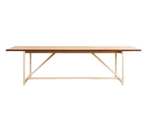 Stripe 8 Table by BassamFellows | Architonic