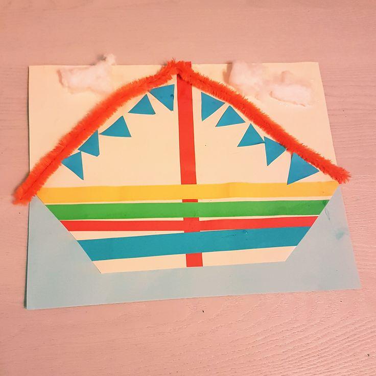 Sinterklaas: 101 ideeën om te knutselen – Leuk met kids #leukmetkids #Sinterklaas #Sint #Piet #knutselen stoomboot
