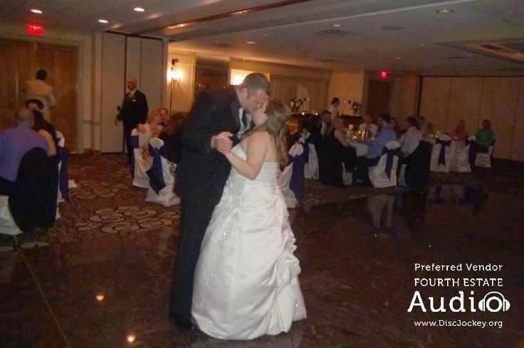"""Chris and Katie chose Chris Cornell's """"Finally Forever"""" for their romantic first dance."""