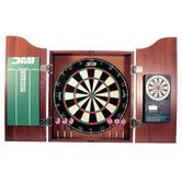 Found it at Wayfair - 5 Piece Dartboard Cabinet Set with Electronic Scorer