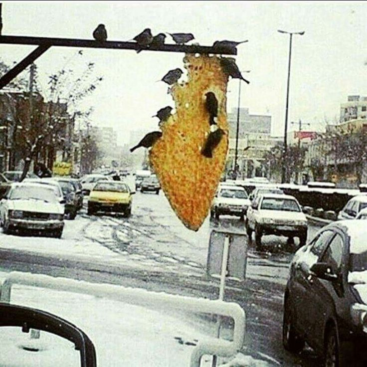 Iran in winter.