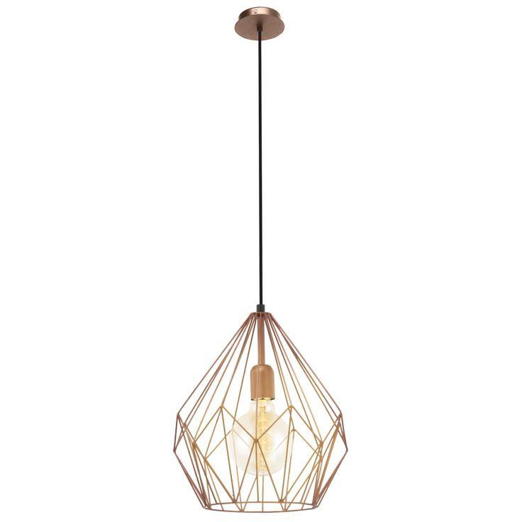 49258 Vintage Eglo hanglamp