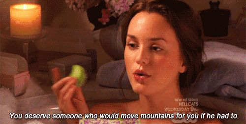 Don't ever settle for a guy for ANY reason, no matter how fine he is or how much money he has. | 17 Lessons Blair Waldorf Taught You About Life