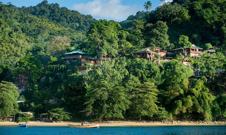 A rustic resort fulfils the dream of a Caribbean break amid tropical nature – and there are yoga classes too, in case you are in need of yet more relaxation