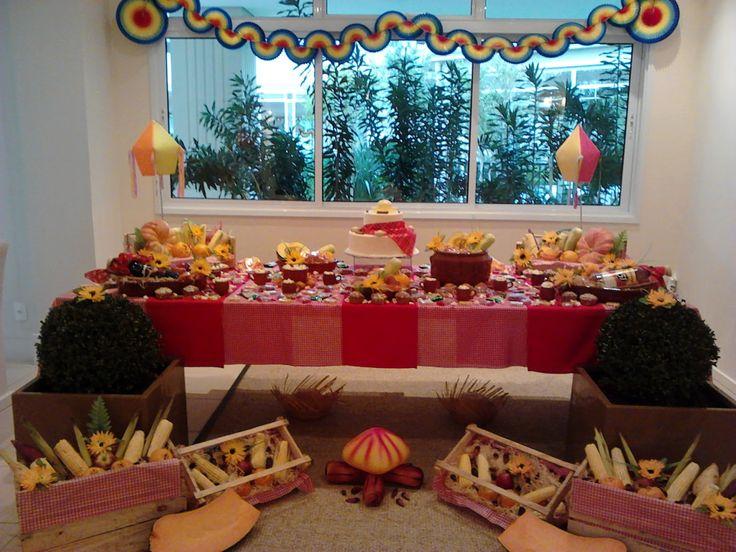 decoração de festa junina balão - Pesquisa Google