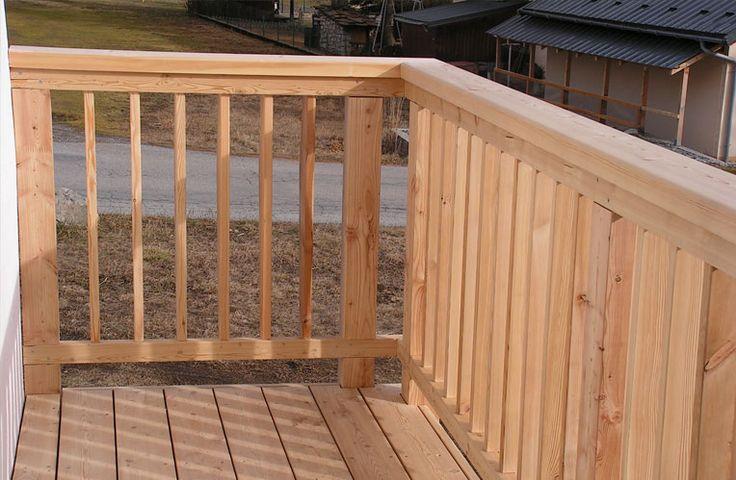Terrasse garde corps en m l ze terrasse pinterest - Garde corps en kit pour terrasse ...
