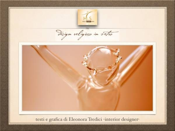 Il Crocifisso firmato Holy Light Sign: design made in Italy!