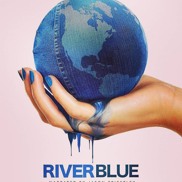 "This documentary film examines the fashion industry, its impact on the worlds rivers and what consumers can do to inspire change for a brighter futere. ""The title of the documentary comes from the blue colours comi g from the factories in China who are polluting their rivers""- Roger Williams More info @riverbluethemovie . . . . . .  #environment #ecofashion #fastfashion #greenliving #fashionrevolution #gogreen #sustainablefashion #riverbluethemovie #blue"