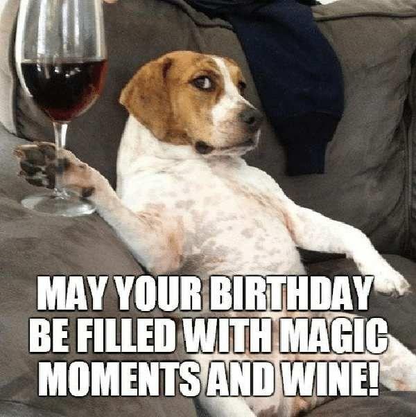 Pin On Happy Birthday Wine