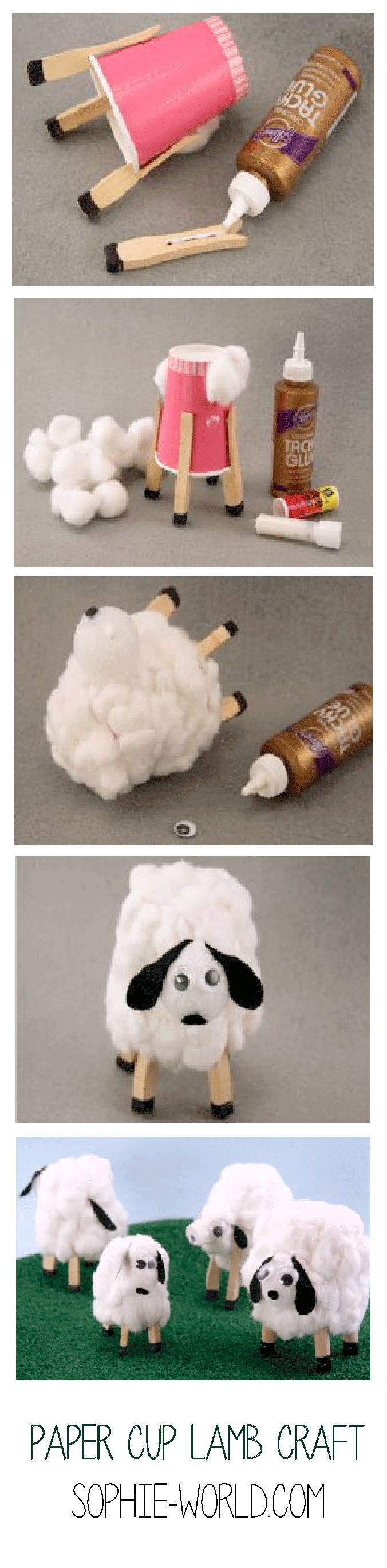 Spring into spring with these amazingly cute, fluffy lambs! This craft is…