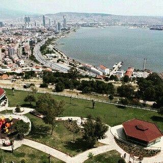 İZMİR Bayraklı Teras park